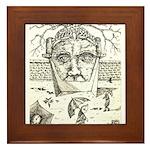 """SLAVES TO TIME"" Framed Tile"