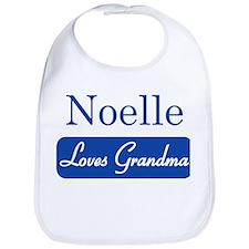 Noelle loves grandma Bib
