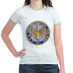 USS WARRINGTON Jr. Ringer T-Shirt