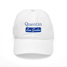 Quentin loves grandma Baseball Cap