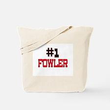 Number 1 FOWLER Tote Bag