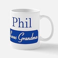 Phil loves grandma Mug