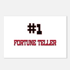 Number 1 FORTUNE TELLER Postcards (Package of 8)