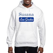 Susana loves grandma Hoodie