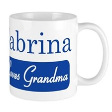 Sabrina loves grandma Mug