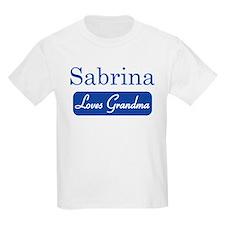 Sabrina loves grandma T-Shirt