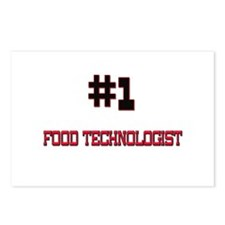 Number 1 FOOD TECHNOLOGIST Postcards (Package of 8