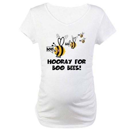 Hooray for boobies Maternity T-Shirt