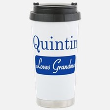 Quintin loves grandma Travel Mug