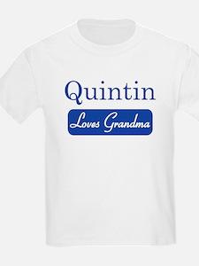 Quintin loves grandma T-Shirt