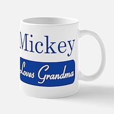 Mickey loves grandma Mug
