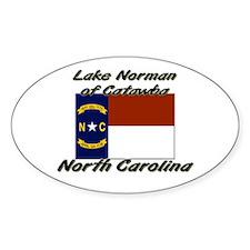 Lake Norman of Catawba North Carolina Decal