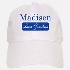Madisen loves grandma Baseball Baseball Cap