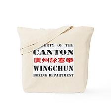 Canton Boxer Tote Bag