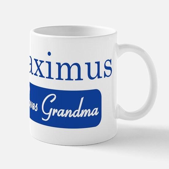Maximus loves grandma Mug