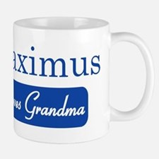 Maximus loves grandma Small Small Mug