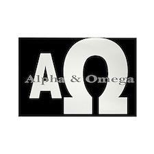 Alpha & Omega Rectangle Magnet