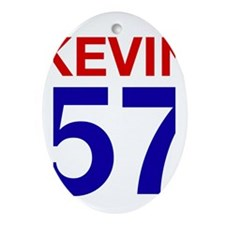 Kevin 57 Oval Ornament