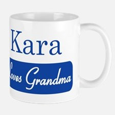 Kara loves grandma Small Small Mug