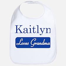 Kaitlyn loves grandma Bib
