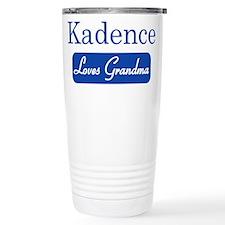 Kadence loves grandma Travel Mug