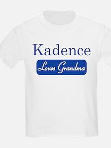 Kadence loves grandma T-Shirt