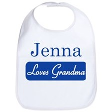 Jenna loves grandma Bib