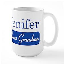 Jenifer loves grandma Mug