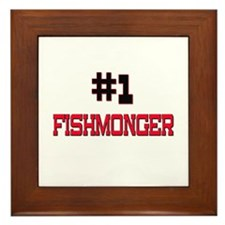 Number 1 FISHMONGER Framed Tile