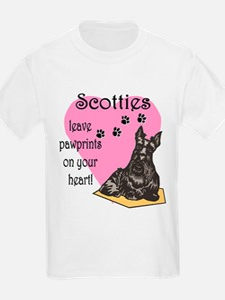 Scottie Pawprints Kids T-Shirt