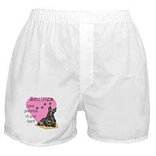 Scottie Pawprints Boxer Shorts