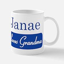 Janae loves grandma Mug