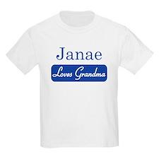 Janae loves grandma T-Shirt