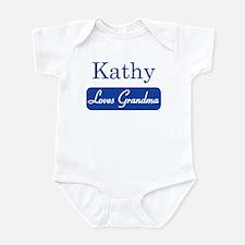 Kathy loves grandma Onesie