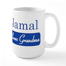 Jamal loves grandma Mug