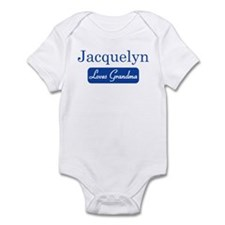 Jacquelyn loves grandma Onesie