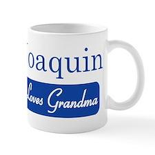 Joaquin loves grandma Mug