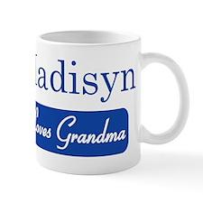 Madisyn loves grandma Mug