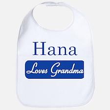 Hana loves grandma Bib