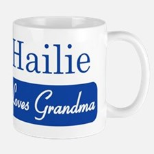 Hailie loves grandma Mug