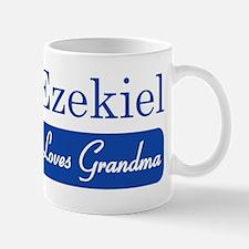 Ezekiel loves grandma Mug