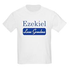 Ezekiel loves grandma T-Shirt