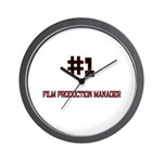 Number 1 FILM PRODUCTION MANAGER Wall Clock