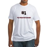 Number 1 FILM PRODUCTION MANAGER Fitted T-Shirt