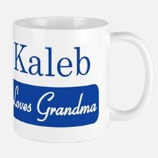 Kaleb loves grandma Mug