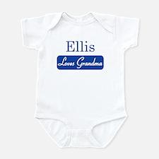 Ellis loves grandma Infant Bodysuit