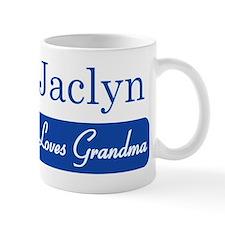 Jaclyn loves grandma Mug