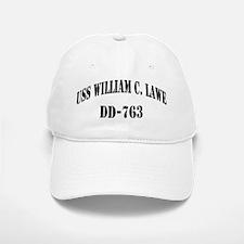 USS WILLIAM C. LAWE Baseball Baseball Cap
