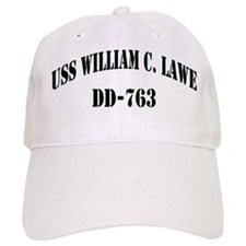 USS WILLIAM C. LAWE Baseball Cap
