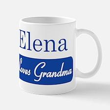 Elena loves grandma Mug